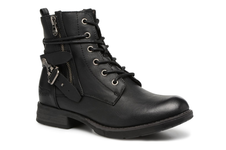 Bottines et boots Tom Tailor Gabrielle Noir vue détail/paire