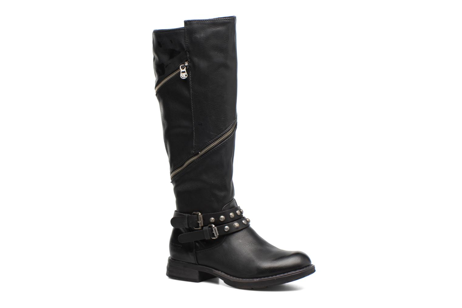 Boots & wellies Tom Tailor Cassandre Black detailed view/ Pair view