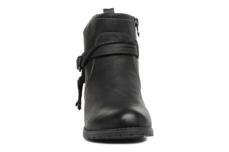 Bottines et boots Tom Tailor Sabrina Noir vue portées chaussures