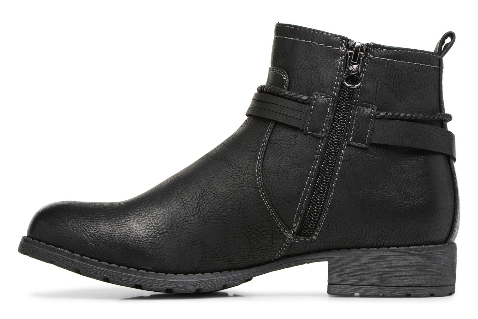 Ankle boots Tom Tailor Sabrina Black front view