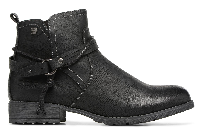 Ankle boots Tom Tailor Sabrina Black back view
