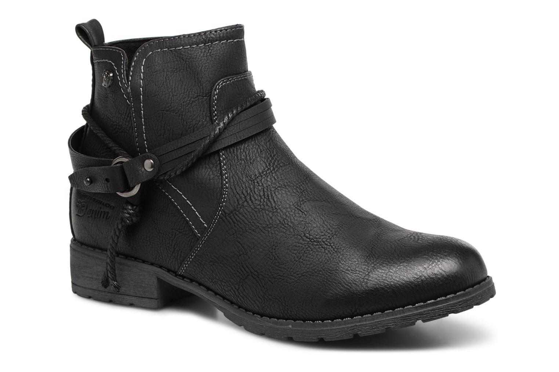 Bottines et boots Tom Tailor Sabrina Noir vue détail/paire