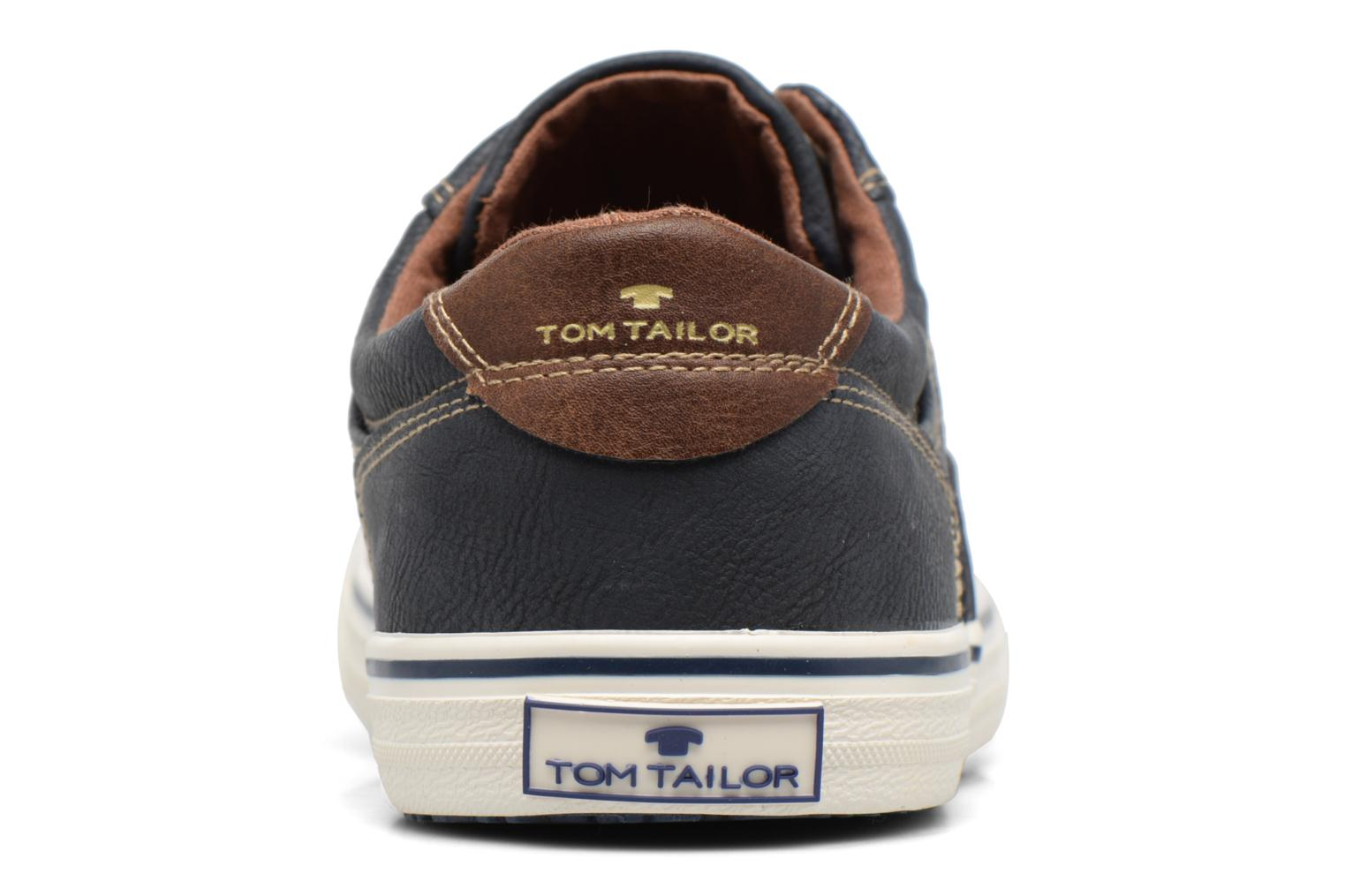 Trainers Tom Tailor Nino Blue view from the right