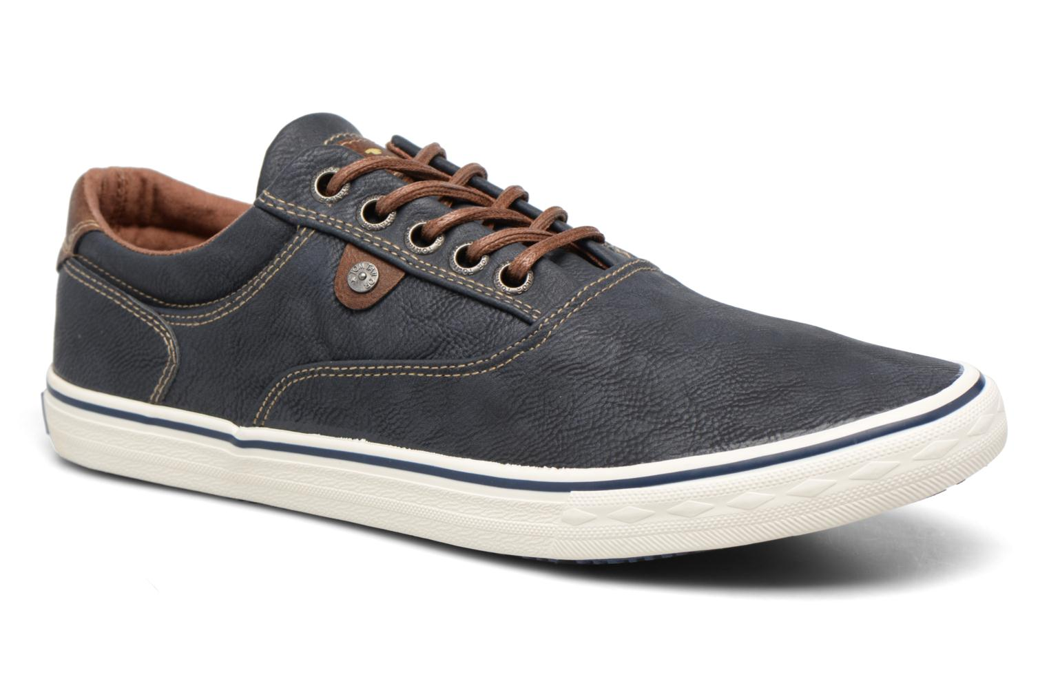 Trainers Tom Tailor Nino Blue detailed view/ Pair view