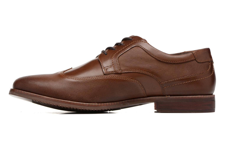 Zapatos con cordones Rockport SP Perf Wingtip Marrón vista de frente