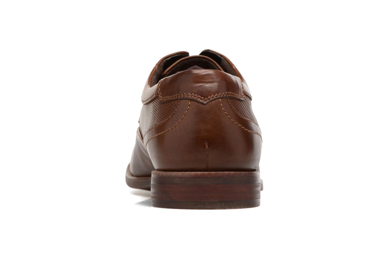 Chaussures à lacets Rockport SP Perf Wingtip Marron vue droite