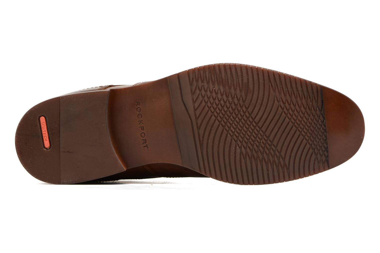 Chaussures à lacets Rockport SP Perf Wingtip Marron vue haut