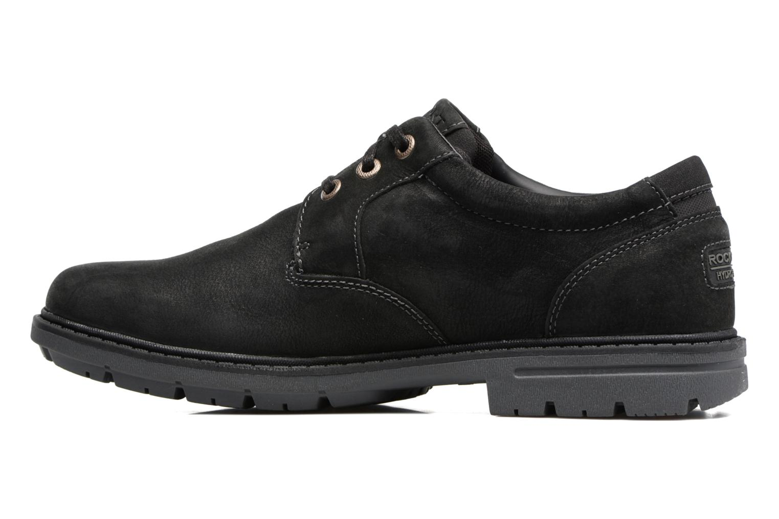 Chaussures à lacets Rockport Tough Bucks Pt Ox 2 Noir vue face