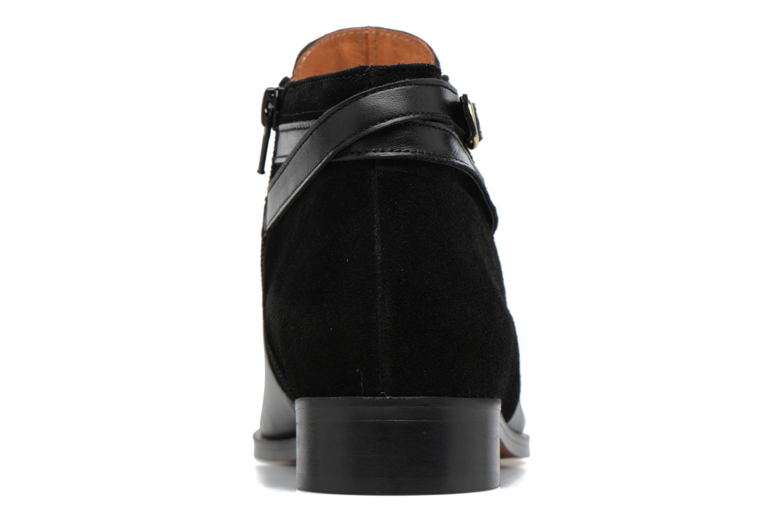 Bottines et boots Georgia Rose Carboucle Noir vue droite