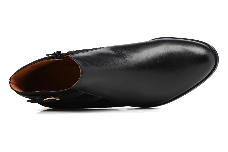 Bottines et boots Georgia Rose Carboucle Noir vue gauche