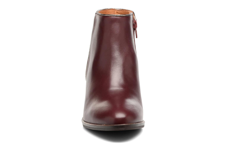 Bottines et boots Georgia Rose Catalon Bordeaux vue portées chaussures