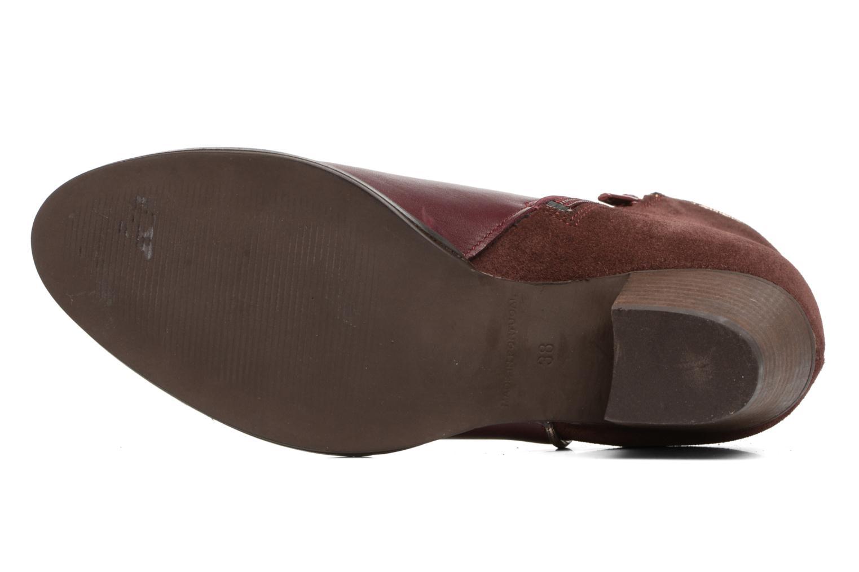 Bottines et boots Georgia Rose Catalon Bordeaux vue haut