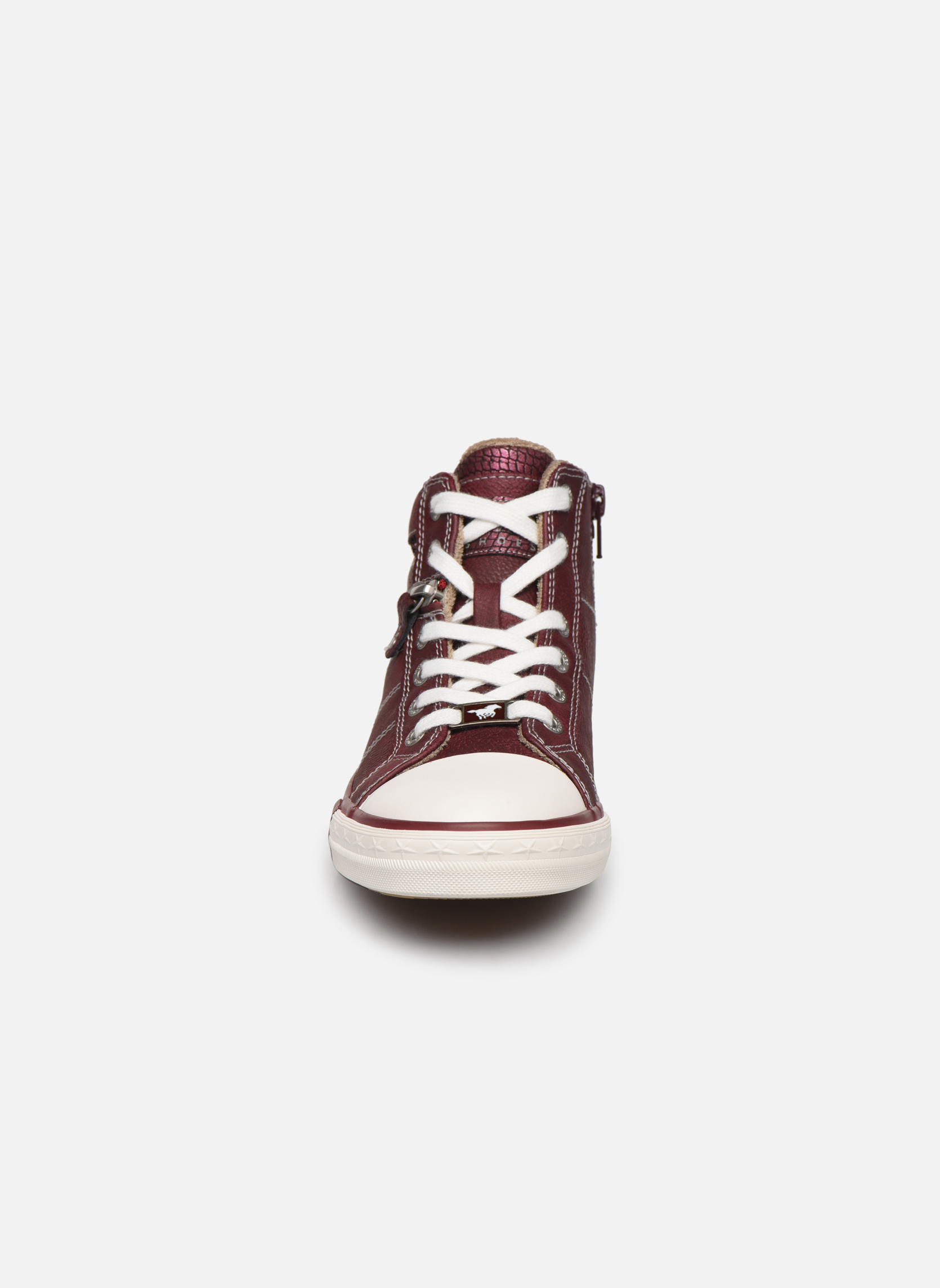 Trainers Mustang shoes Eper Burgundy model view