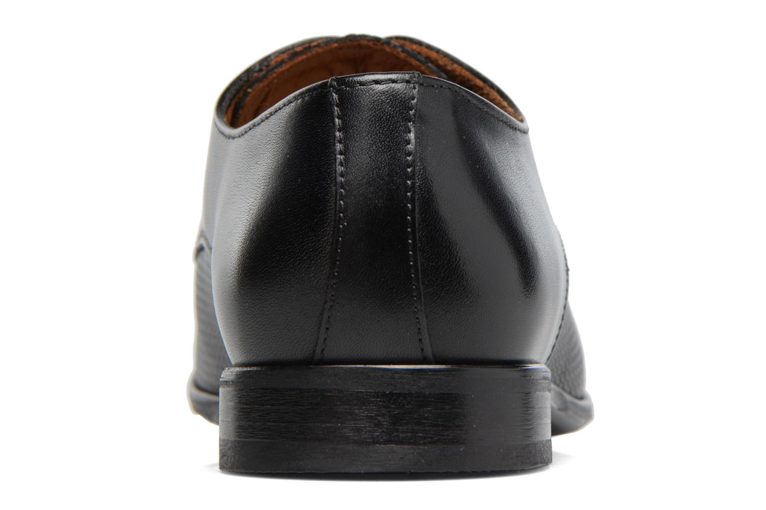 Lace-up shoes Marvin&co Nutley Black view from the right