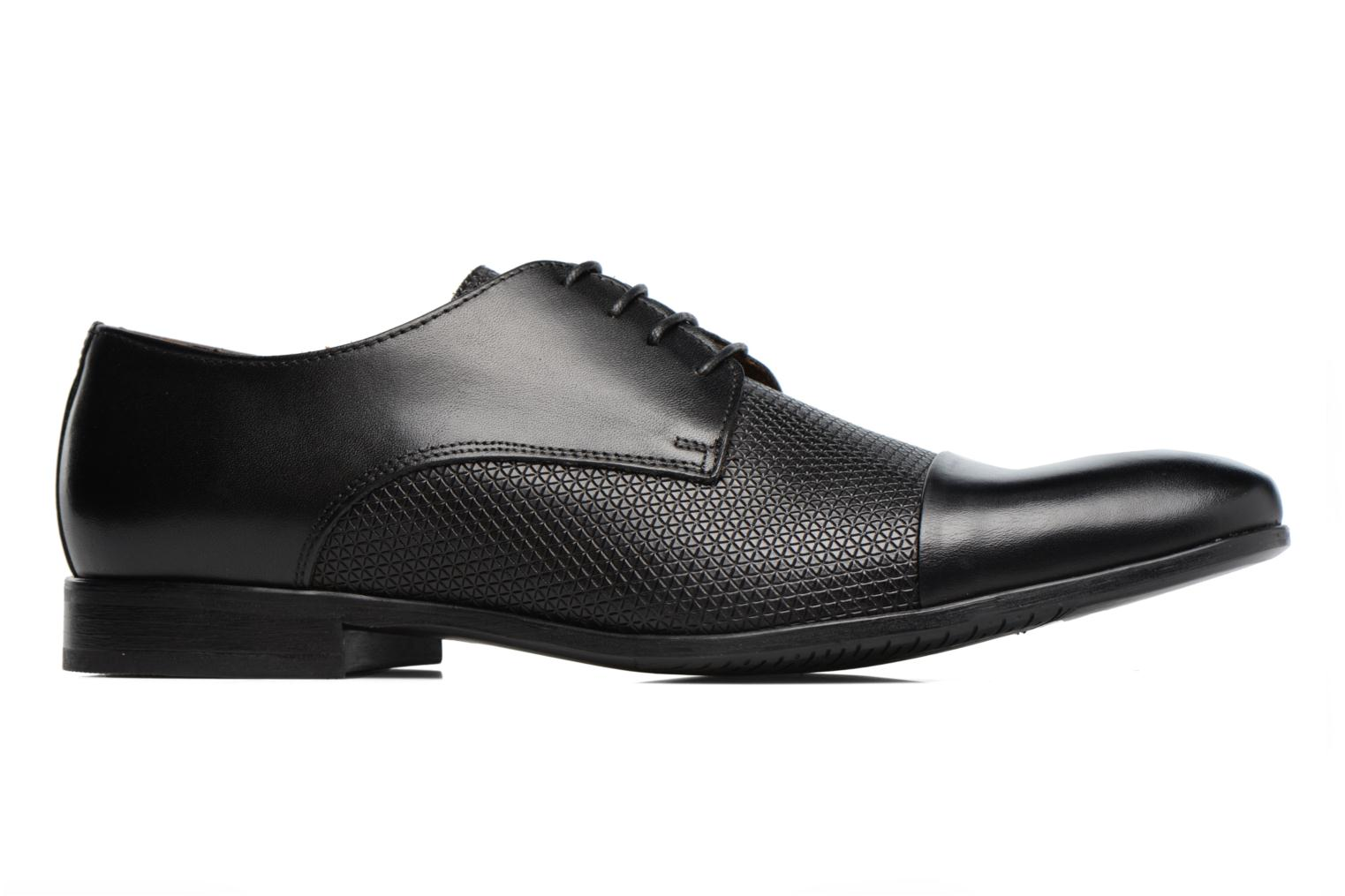 Lace-up shoes Marvin&co Nutley Black back view