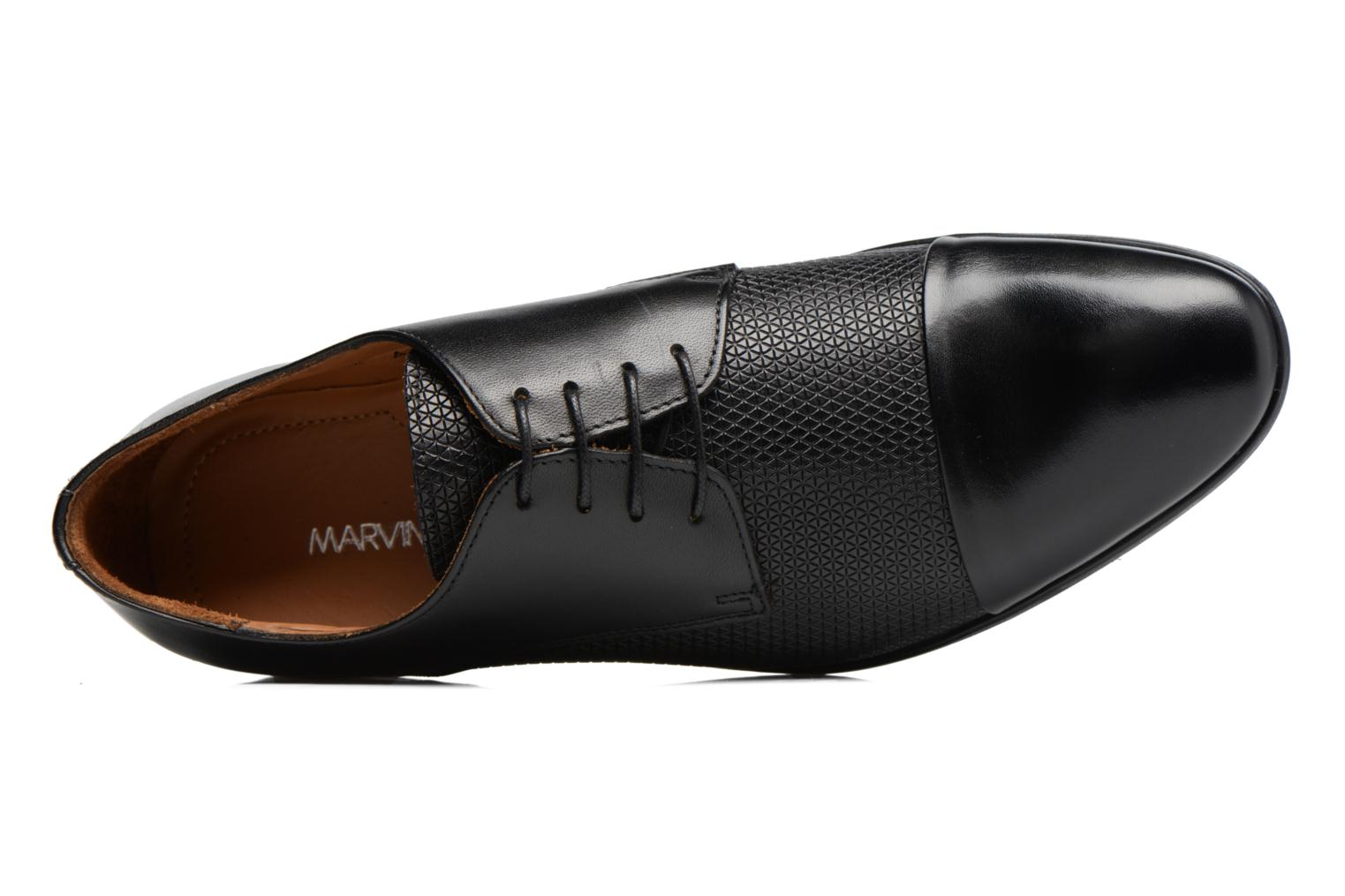 Lace-up shoes Marvin&co Nutley Black view from the left
