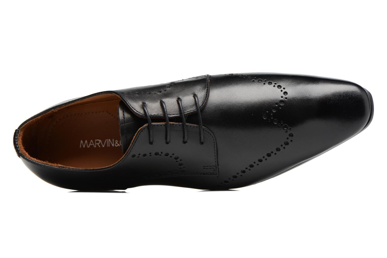 Chaussures à lacets Marvin&Co Nottage Noir vue gauche