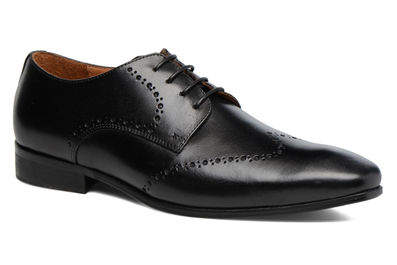 Chaussures à lacets Marvin&Co Nottage Noir vue détail/paire