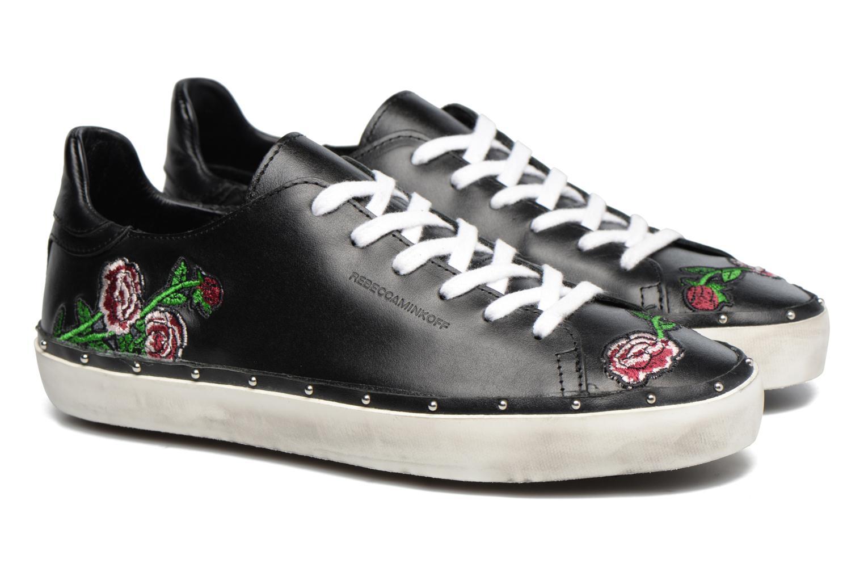 Michell Flower Nappa Black