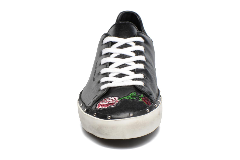Baskets Rebecca Minkoff Michell Flower Nappa Noir vue portées chaussures