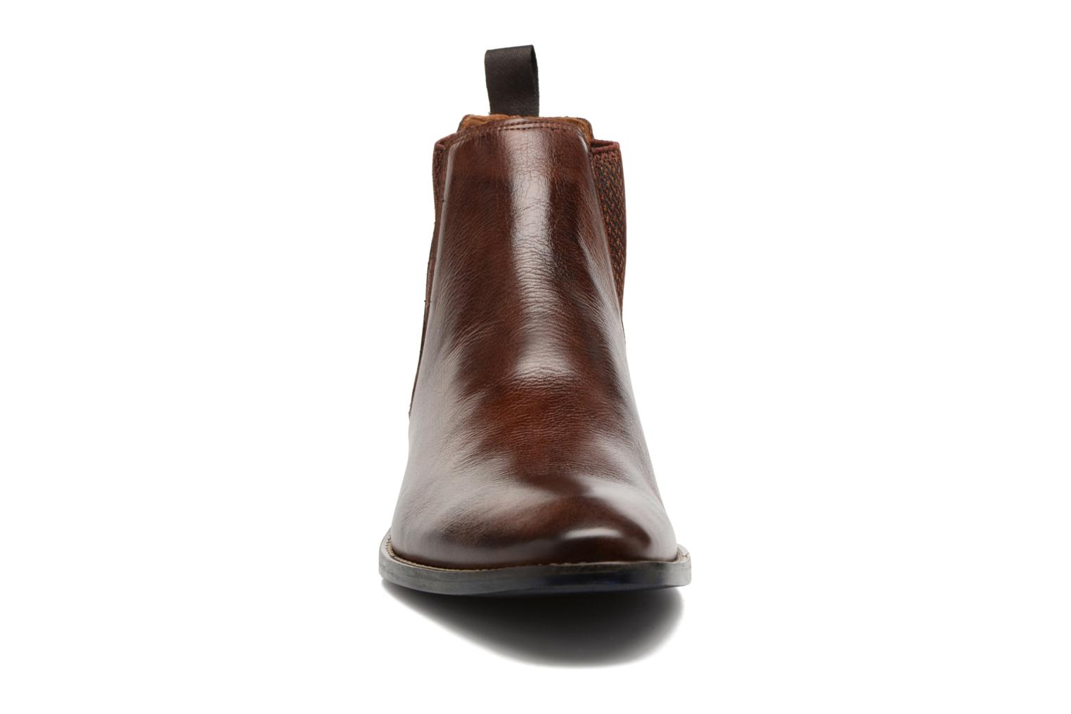 Ankle boots Marvin&co Newgale Brown model view