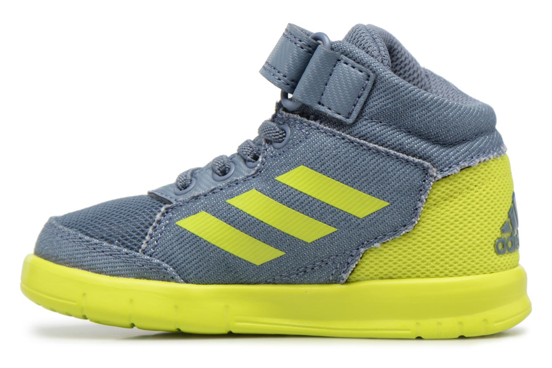 Sneakers Adidas Performance Altasport Mid El I Blauw voorkant