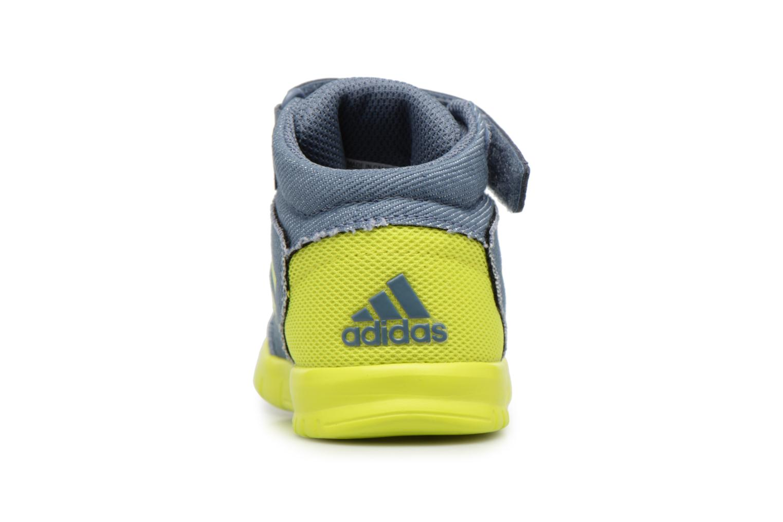 Sneakers Adidas Performance Altasport Mid El I Blauw rechts