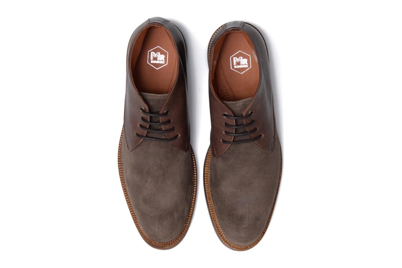 Chaussures à lacets Mr SARENZA Testu Marron vue portées chaussures