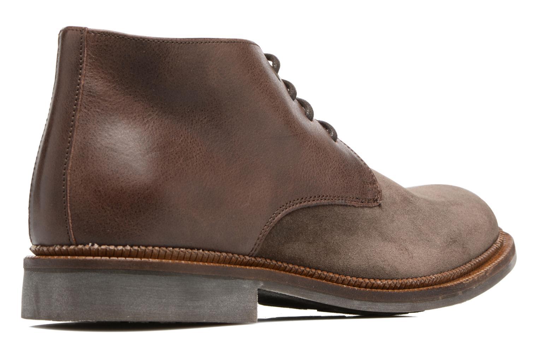 Chaussures à lacets Mr SARENZA Testu Marron vue face