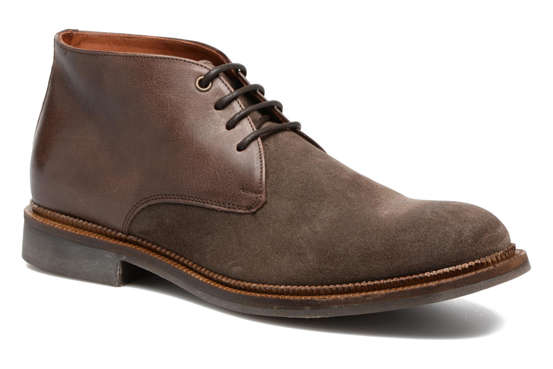 Chaussures à lacets Mr SARENZA Testu Marron vue droite