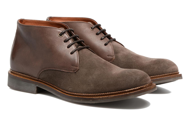 Chaussures à lacets Mr SARENZA Testu Marron vue derrière
