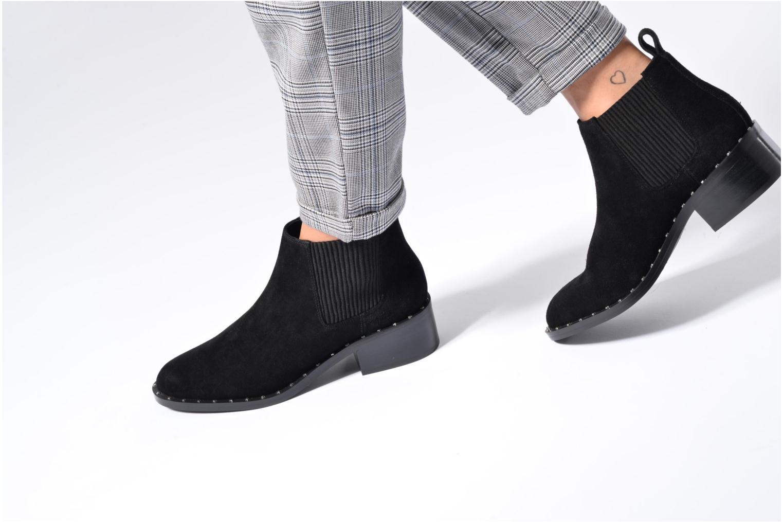 Stiefeletten & Boots SENSO Darcy II schwarz ansicht von unten / tasche getragen
