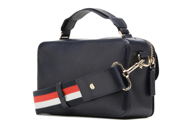 Sacs à main Tommy Hilfiger Fashion Hardware Mini Crossover Bleu vue droite