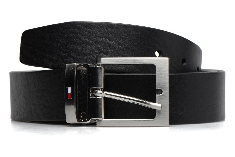 Adjustable Leather Belt 35mm 002 Black