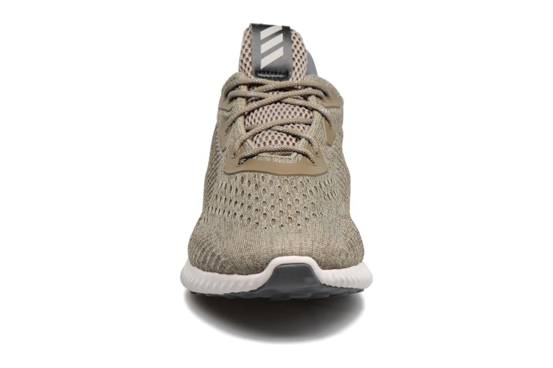 Sportschuhe Adidas Performance Alphabounce Em M grün schuhe getragen