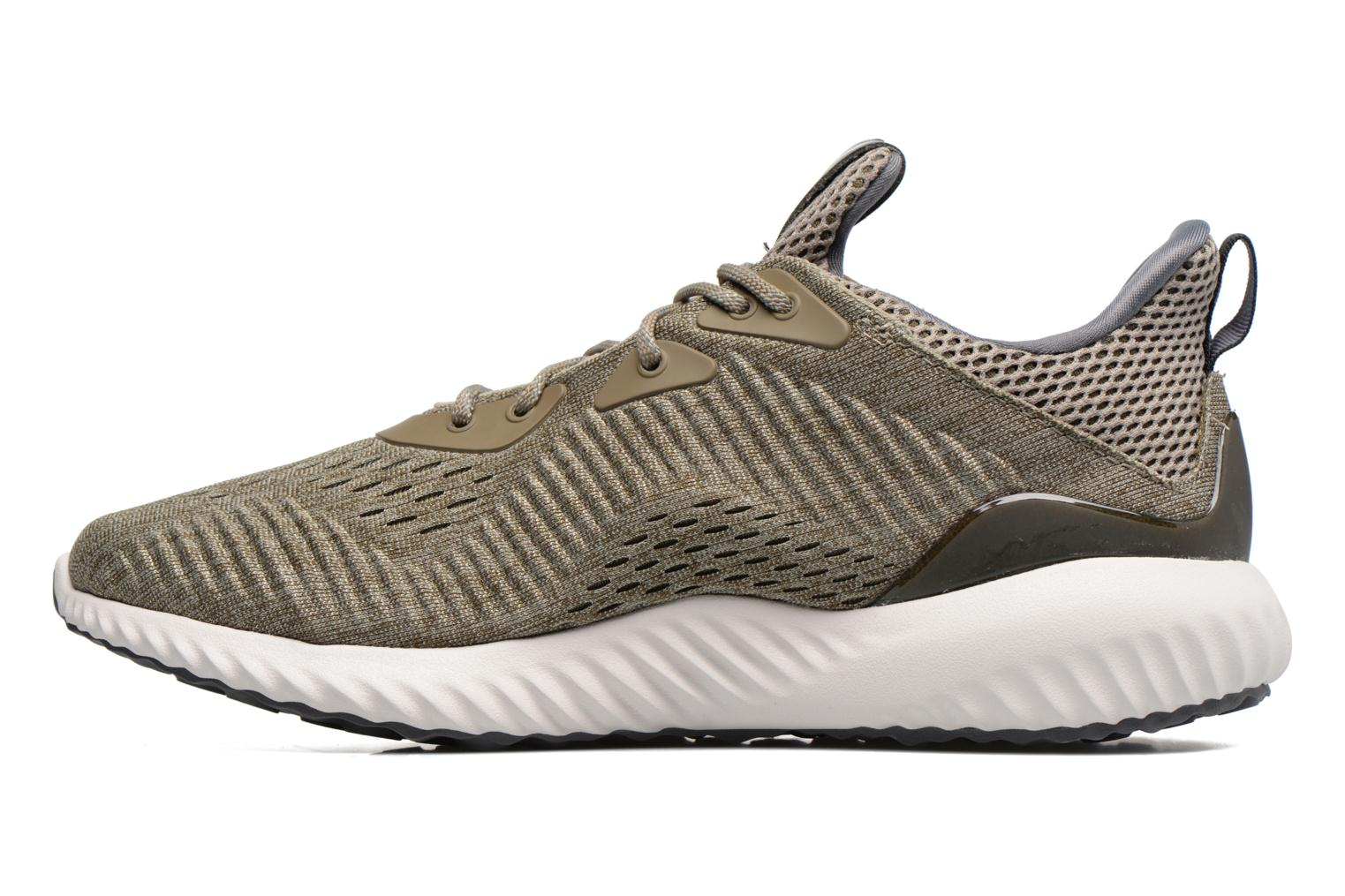 Sport shoes Adidas Performance Alphabounce Em M Green front view