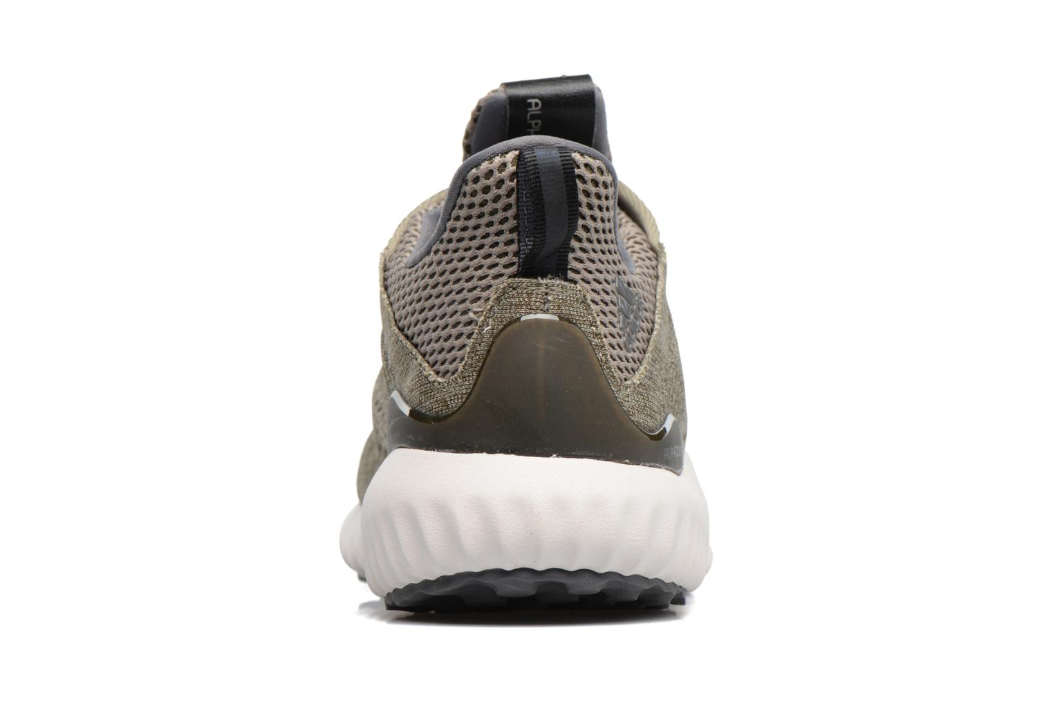 Sport shoes Adidas Performance Alphabounce Em M Green view from the right