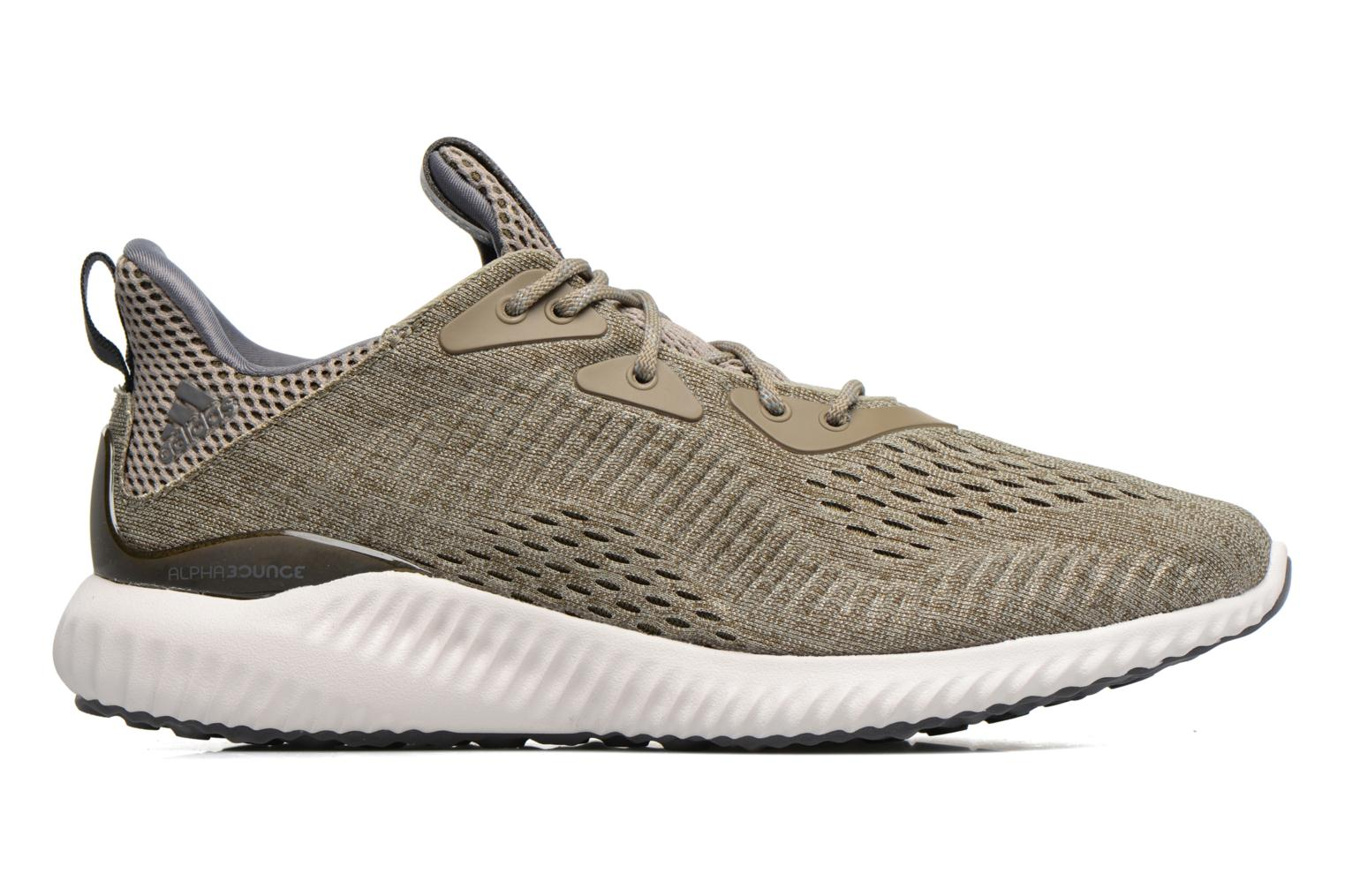 Sport shoes Adidas Performance Alphabounce Em M Green back view