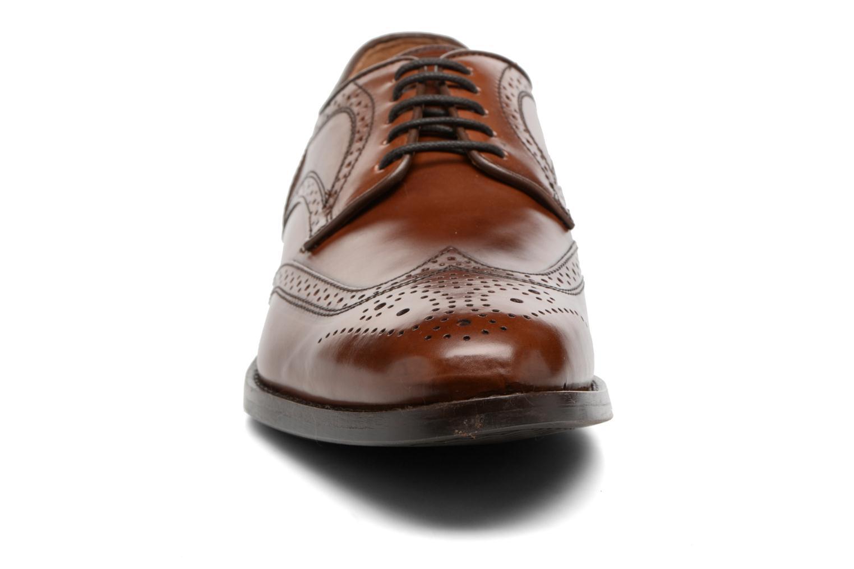 Chaussures à lacets Geox U Hampstead D  U52E3D Marron vue portées chaussures