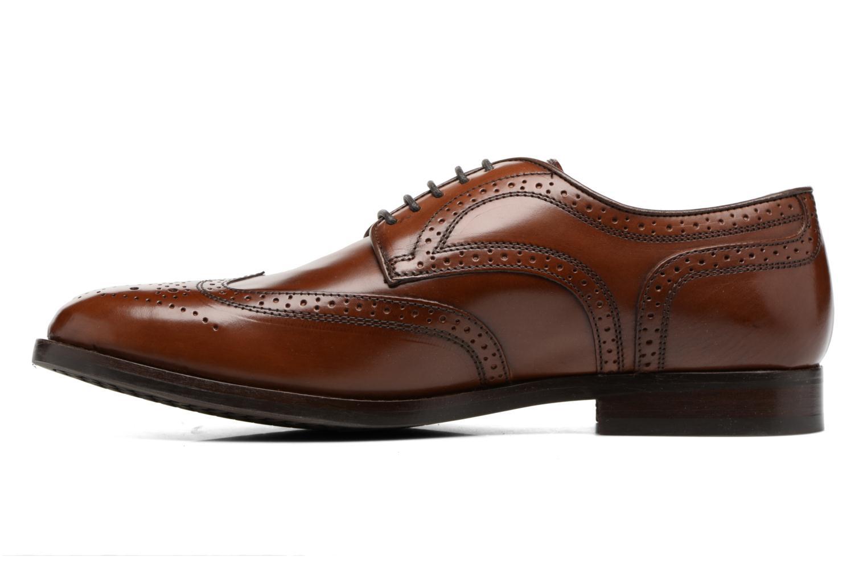 Chaussures à lacets Geox U Hampstead D  U52E3D Marron vue face