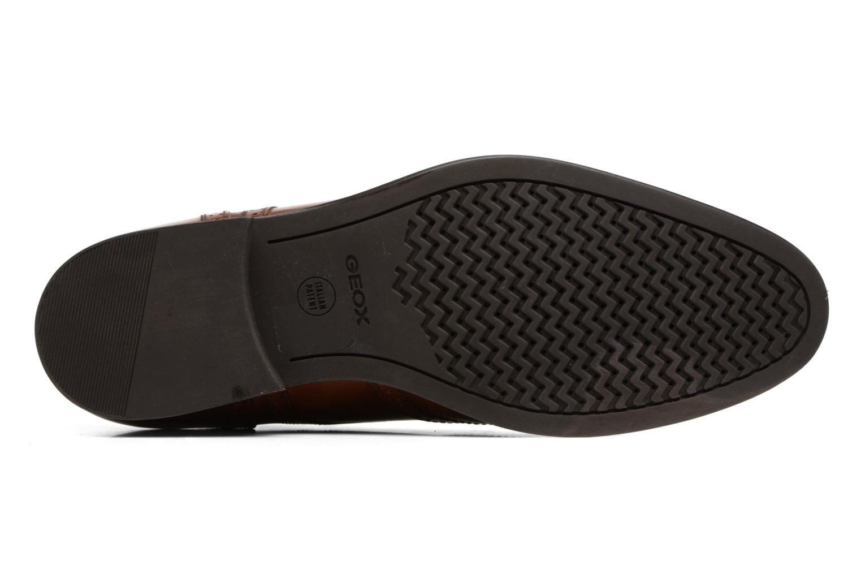 Chaussures à lacets Geox U Hampstead D  U52E3D Marron vue haut