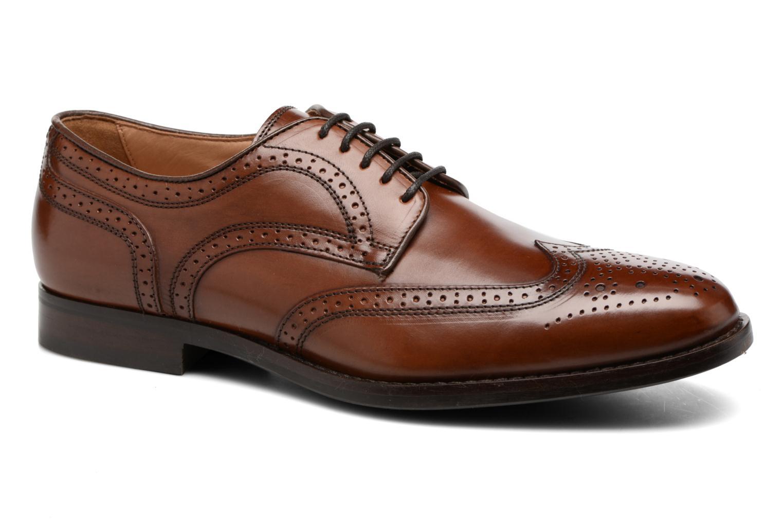 Chaussures à lacets Geox U Hampstead D  U52E3D Marron vue détail/paire
