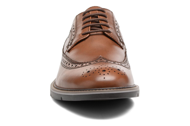 Chaussures à lacets Geox U Uvet A U722QA Marron vue portées chaussures
