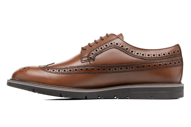 Chaussures à lacets Geox U Uvet A U722QA Marron vue face