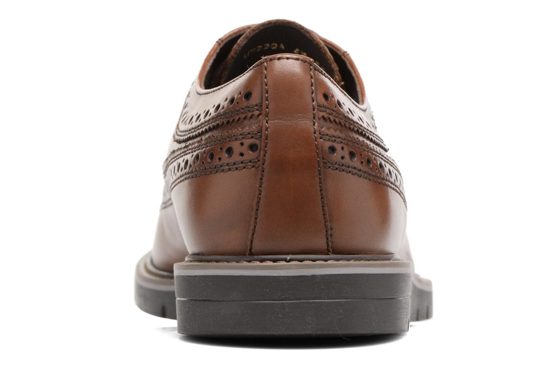 Chaussures à lacets Geox U Uvet A U722QA Marron vue droite