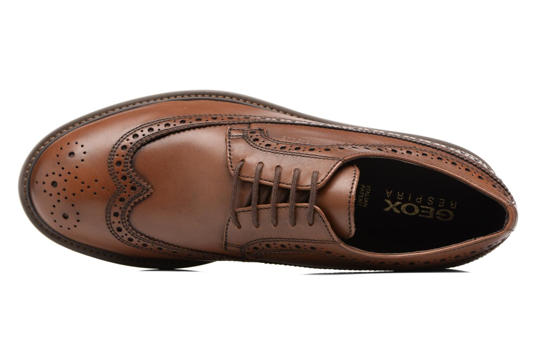 Chaussures à lacets Geox U Uvet A U722QA Marron vue gauche