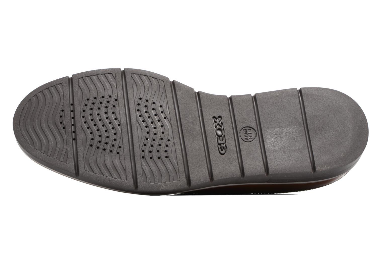 Chaussures à lacets Geox U Uvet A U722QA Marron vue haut