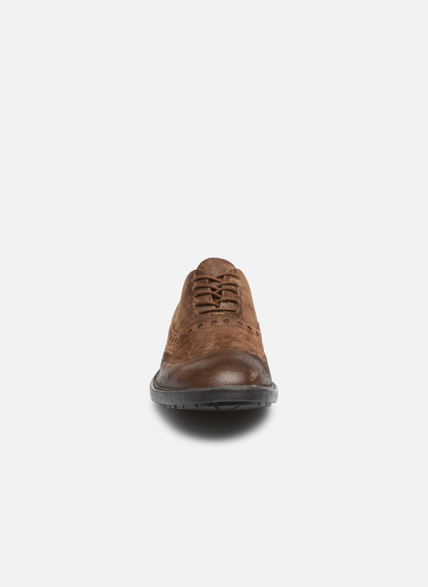 Chaussures à lacets Geox U Kapsian A U743PA Marron vue portées chaussures