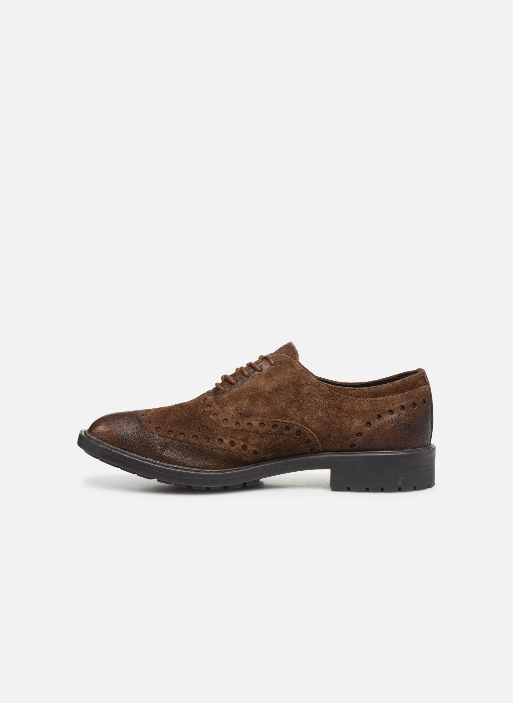 Chaussures à lacets Geox U Kapsian A U743PA Marron vue face