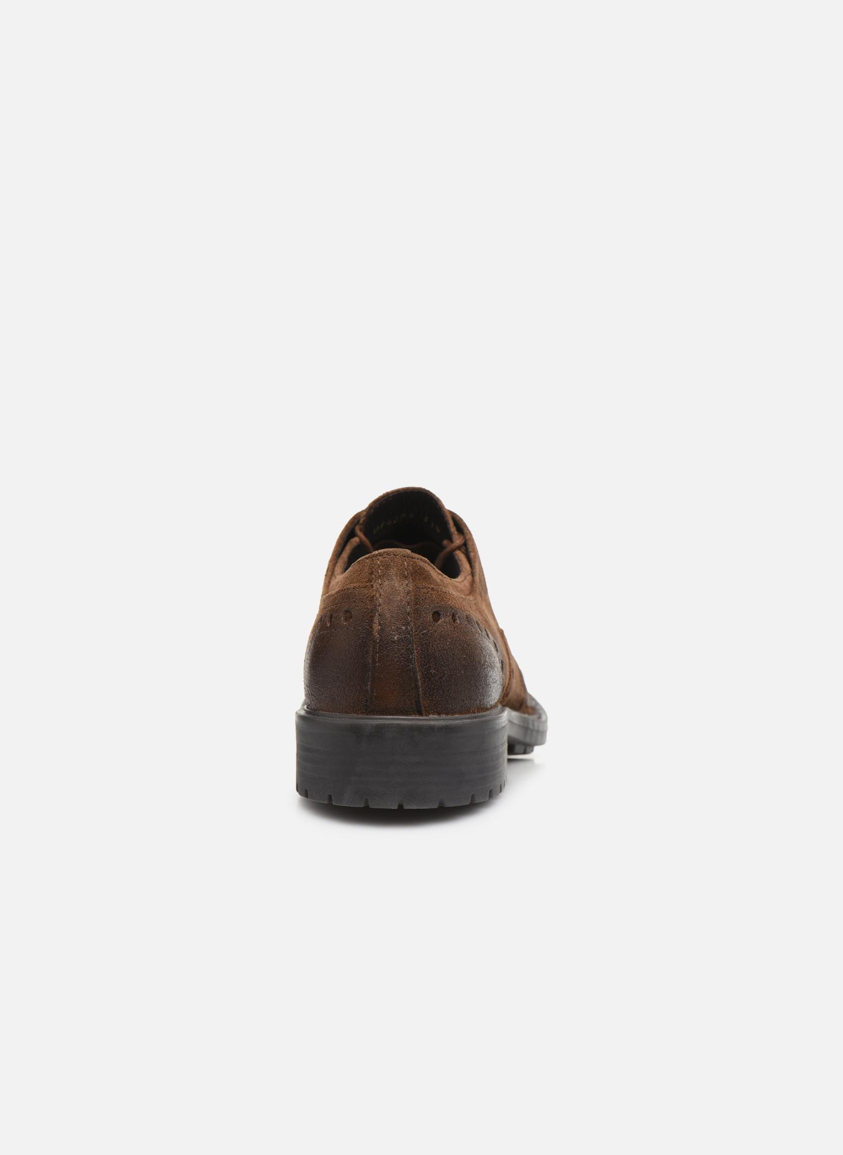 Chaussures à lacets Geox U Kapsian A U743PA Marron vue droite
